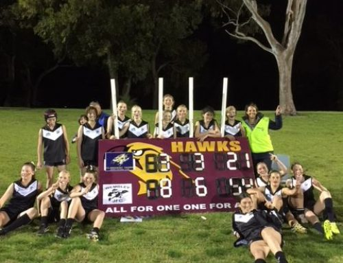 Female footy champs